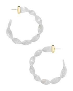 BAUBLEBAR - Twist Hoop Earrings