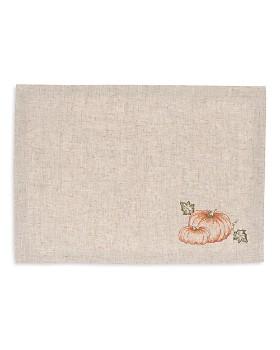 C & F Enterprises - Embroidered Pumpkin Placemats, Set of 4