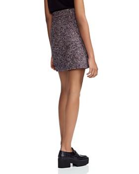 Maje - Jiberty Tweed A-Line Skirt