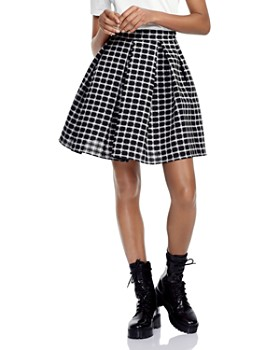 c6606c14a9 Maje Mini Skirts: Denim, Pleated, Leather & More - Bloomingdale's