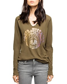 Zadig & Voltaire - Strass Embellished Tee