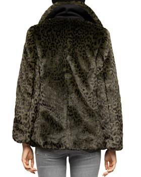 Zadig & Voltaire - Miles Leopard Faux-Fur Peacoat