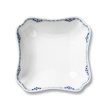 "Royal Copenhagen - ""Princess"" Square Vegetable Dish"