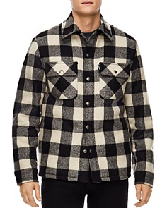 Sandro - Lumber Buffalo-Check Shirt Jacket
