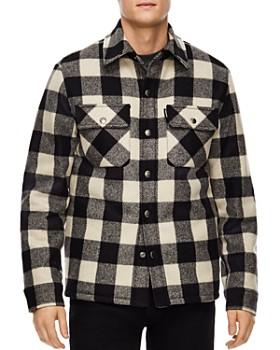 Sandro - Lumber Buffalo-Check Shirt Jacket