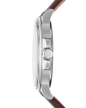 Michael Kors - Bryson Brown Leather Strap Watch, 42mm