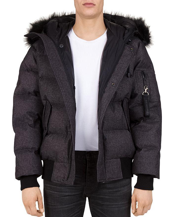 509827e6b9 The Kooples Puffa Hooded Down Jacket | Bloomingdale's
