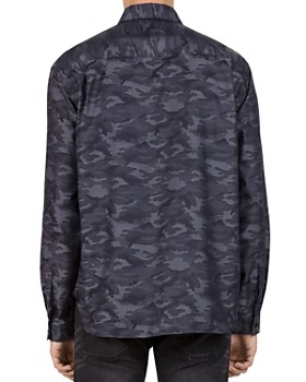 The Kooples - Harley Camouflage Regular Fit Button-Down Shirt