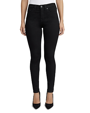 True Religion HALLE HIGH RISE JEANS IN WAY BACK BLACK