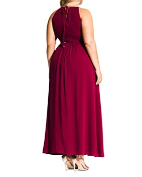 City Chic Plus - Devotion Sleeveless Maxi Dress