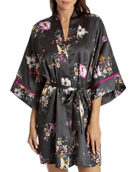 Midnight Bakery - Floral Wrap Robe
