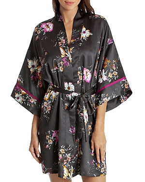 Midnight Bakery Floral Wrap Robe