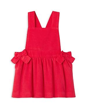 Jacadi Girls' Corduroy Pinafore Overalls Dress - Baby