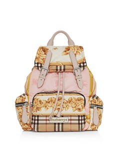 Burberry - Medium Archive Scarf Print Backpack