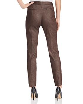 Donna Karan - Metallic Straight-Leg Pants