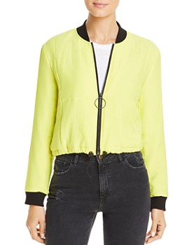 Kenneth Cole - Quilted Puffer Bomber Jacket