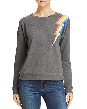 Honey Punch Rainbow Lightning Bolt Sweatshirt