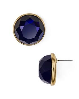 AQUA - Faceted Stud Earrings - 100% Exclusive