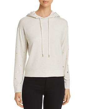 Marc New York - Metallic Star Print Hoodie