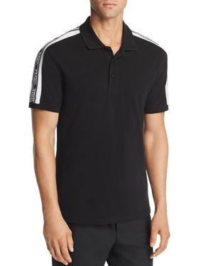 Versus Versace Logo-Stripe Polo Shirt