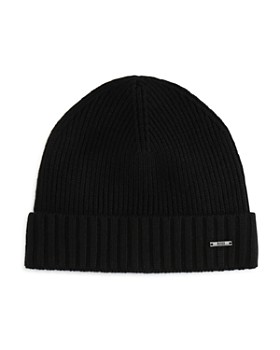 HUGO - Fati Ribbed Beanie Hat