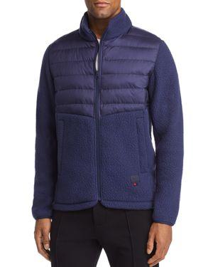 Herschel Supply Co. Mixed-Media Zip-Front Jacket