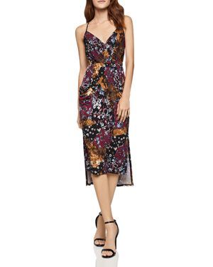 BCBGeneration Printed High/Low Dress