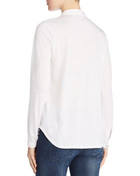 Eileen Fisher Petites - Organic Cotton Classic Collar Shirt