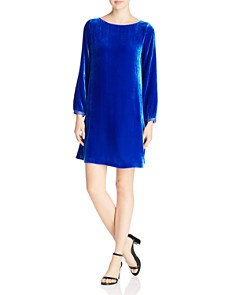 Eileen Fisher Petites - Velvet Shift Dress