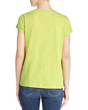 Eileen Fisher Petites - Organic Cotton Slub-Knit Tee
