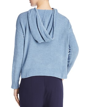 Eileen Fisher - Organic Cotton Hooded Top