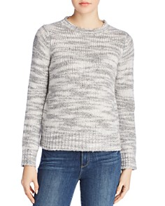 Eileen Fisher - Marled Wool & Silk Sweater