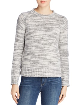 Eileen Fisher - Marled Wool & Silk Sweater