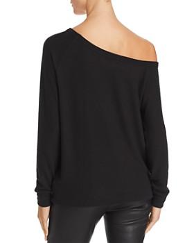 Enza Costa - Off-the-Shoulder Knit Top