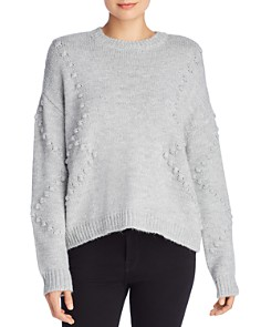 AQUA -  Popcorn Knit Sweater - 100% Exclusive