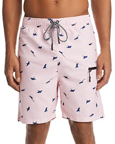 Sovereign Code - Kahuna Stingray-Print Swim Trunks