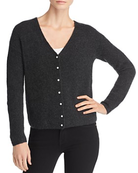 C by Bloomingdale's - V-Neck Button Cardigan - 100% Exclusive