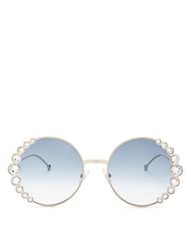 Fendi - Women s Round Sunglasses, ... c49ef7e334f3