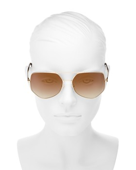 MARC JACOBS - Women's Mirrored Round Sunglasses, 59mm
