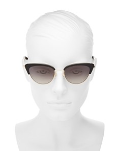 kate spade new york - Women's Jahnam Cat Eye Sunglasses, 52mm