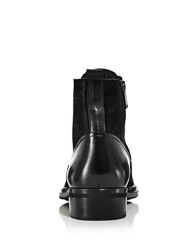 KARL LAGERFELD Paris - Men's Leather Lace-Up Boots