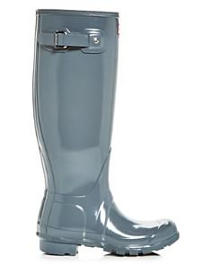 Hunter - Women's Original Tall Gloss Rain Boots