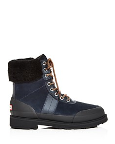 Hunter - Women's Commando Shearling Cuff Cold-Weather Boots