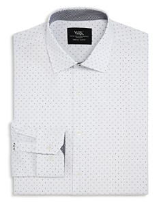 WRK - Dotted Slim Fit Dress Shirt