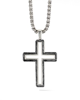 57cb2bc0a9b6b David Yurman - Large Roman Cross ...