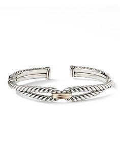 David Yurman - Cable Loop Bracelet with 18K Yellow Gold