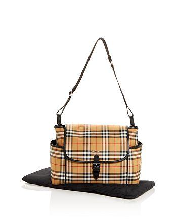 Burberry - Vintage Check Diaper Bag