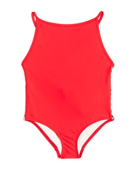 48babf77852f3 Burberry - Girls  Sandine Core Swimsuit - Little Kid