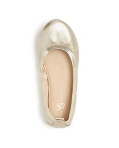 Yosi Samra - Girls' Miss Samara Glitter Ballet Flats - Little Kid, Big Kid