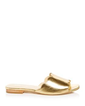 Isa Tapia - Women's Neva Scalloped Slide Sandals
